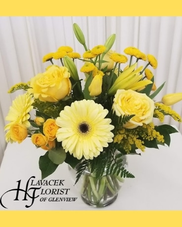 Sunny Wishes Flower Arrangement