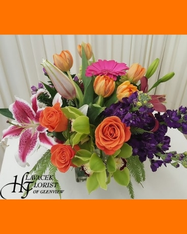 Vibrant Soul Flower Arrangement