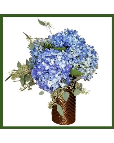 Brilliant Blues Flower Arrangement