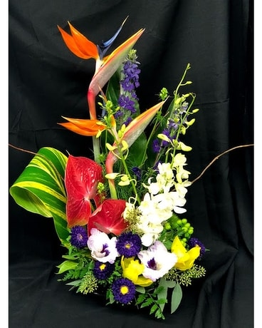 Touch of Paradise Flower Arrangement