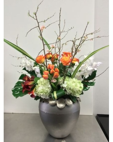Extravagant Urn Flower Arrangement