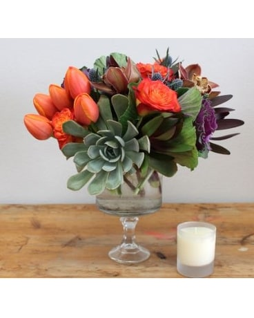 Mixed Delight Flower Arrangement