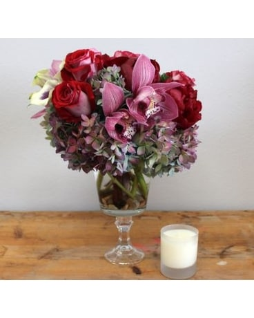 Mixed Vase Flower Arrangement
