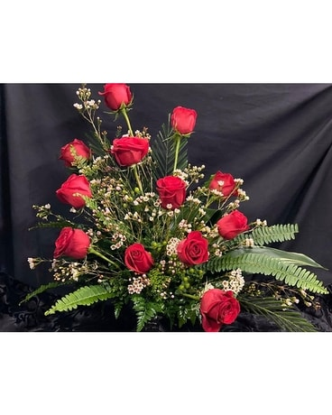 Styled Roses Flower Arrangement