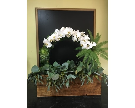 Romantic Arch Flower Arrangement