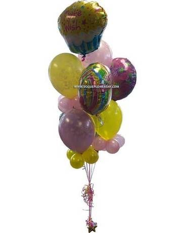 Make A Wish Balloon Bouquet