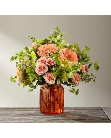 The Peachy Keen Bouqet Flower Arrangement