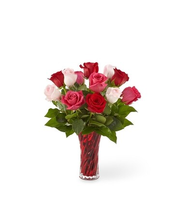 Sweetheart Roses™ Bouquet Flower Arrangement