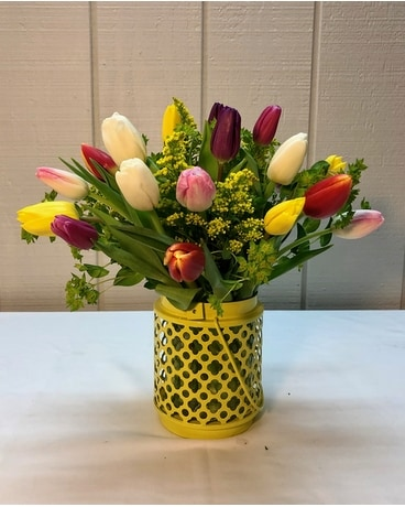 Tulip Time Bouquet Flower Arrangement