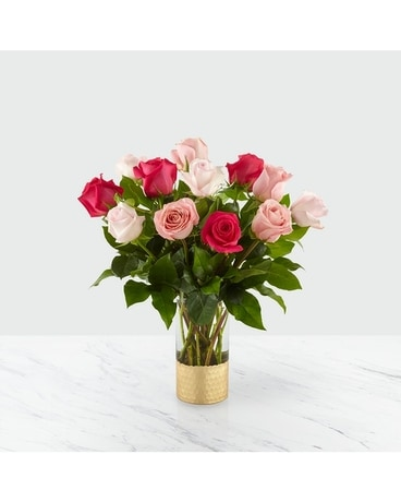 Love and Roses Flower Arrangement