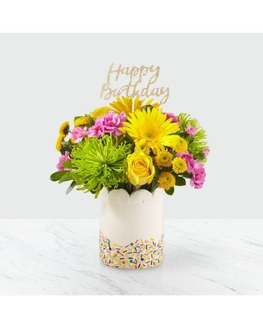 Birthday Sprinkles  Bouquet Flower Arrangement