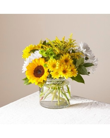Hello Sunshine Bouquet Flower Arrangement