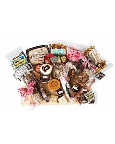 Chocolate and Fudge Gift Basket Gift Basket