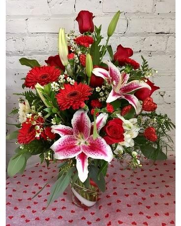 Quick view Swirling Romance Bouquet Flower Arrangement. Top Seller