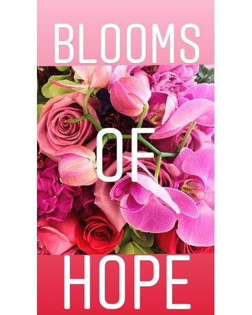 BLOOMS OF HOPE Flower Arrangement