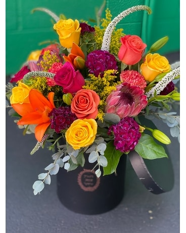 Bold in a Box Bouquet