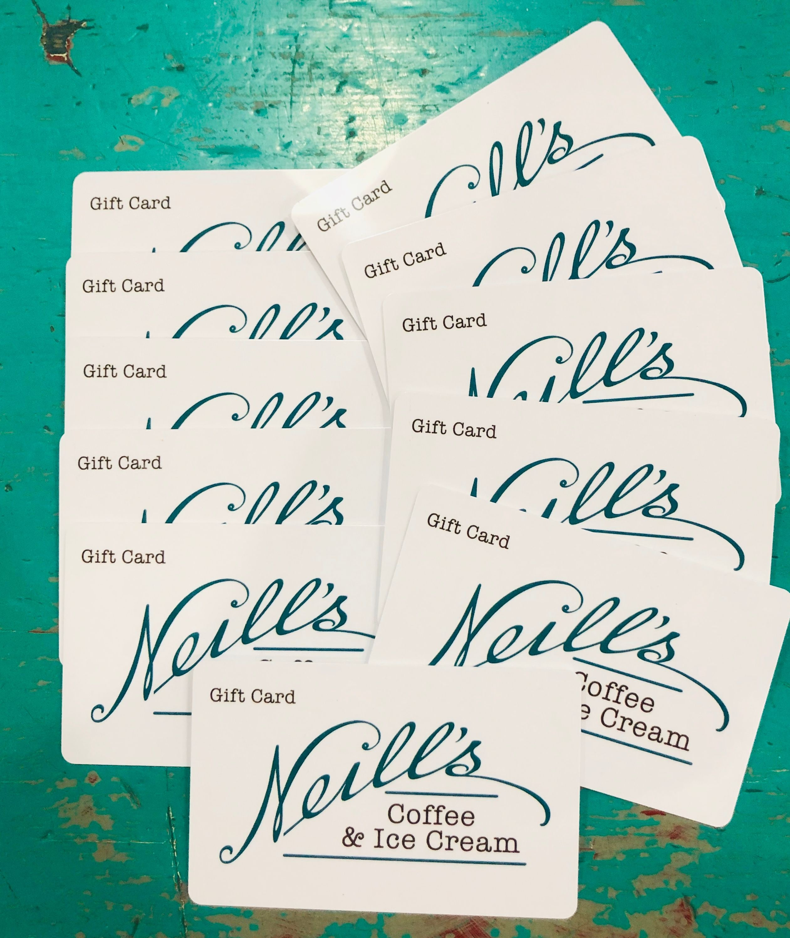 Neill's Coffee & Ice Cream Gift Card