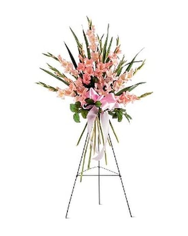 Sentimental Gladioli Spray Flower Arrangement