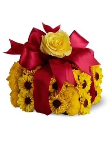 Birthday Sunshine Gift Flower Arrangement