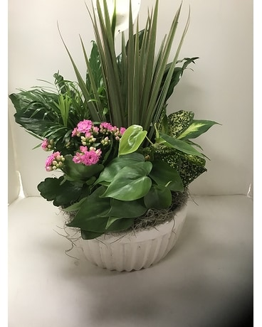 Planter Flower Arrangement