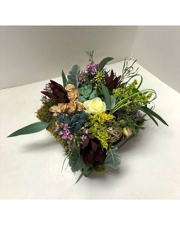 Rustic Roots Flower Arrangement