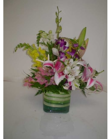 Summertime Flower Arrangement