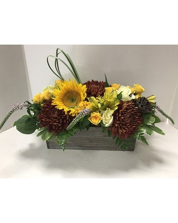 Crisp Spring Flower Arrangement