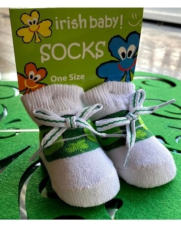 Wee Shamrock Booties