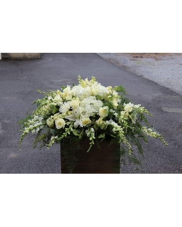 Serene Farewell Flower Arrangement