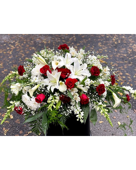 Exquisite Life Casket Spray Funeral Casket Spray Flowers