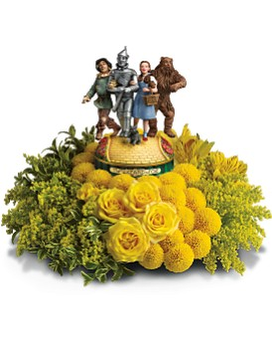 The Wizard of Oz Bouquet by Teleflora Flower Arrangement