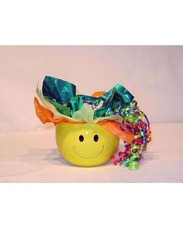 Smiley Candy Bouquet