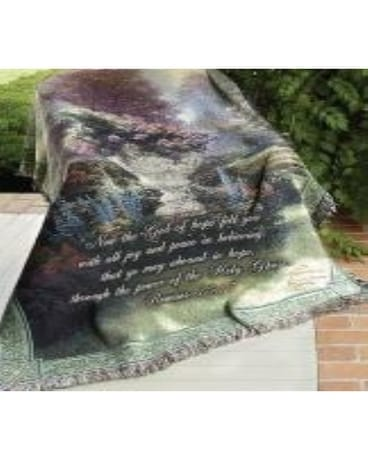 Garden of Hope Throw