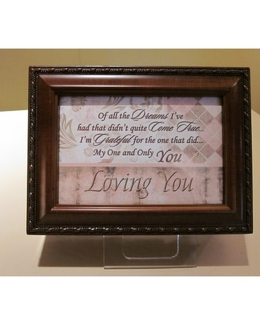 'Loving You' Music Box