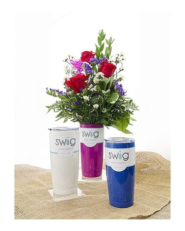 Swig and Roses Bouquet
