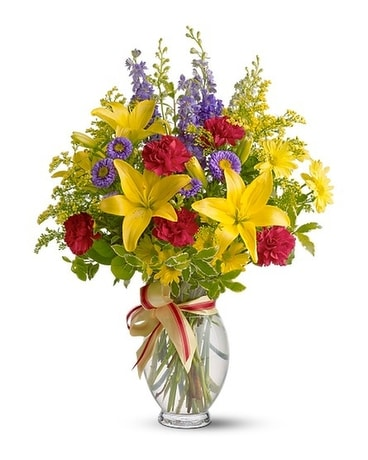 Teleflora's Sunny Side Flower Arrangement