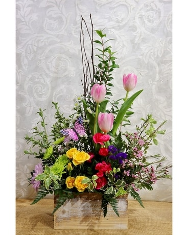 Spring Garden Bouquet Flower Arrangement