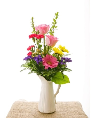 Country Charm Bouquet Flower Arrangement