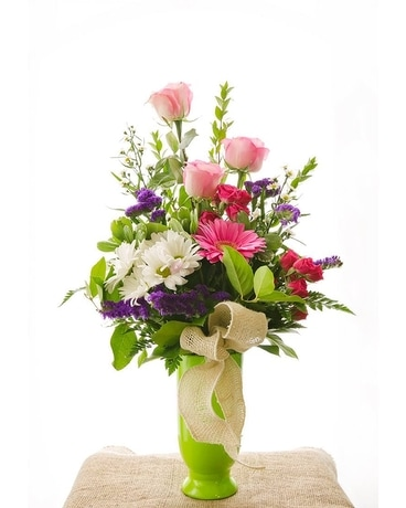 Colorful  Celebration Flower Arrangement