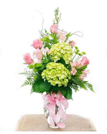 Hydrangea Surprise Flower Arrangement