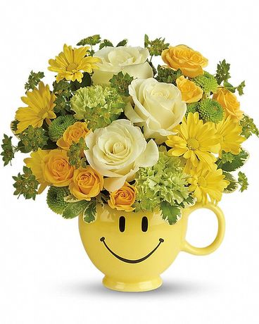 Teleflora's You Make Me Smile Bouquet Flower Arrangement