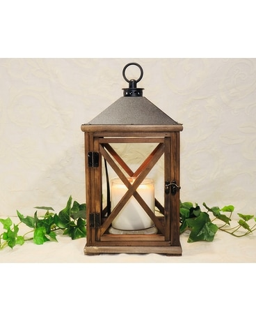Expresso Wooden Candle Warming Lantern Gifts
