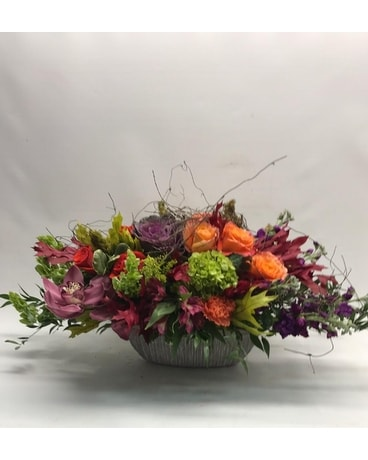 FRESH BLOOMS(AD-9011) Flower Arrangement