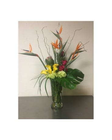 Tropical Explosion Flower Arrangement