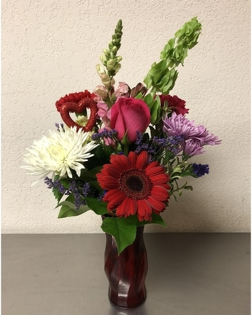 Valentine's Day Special Flower Arrangement