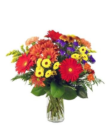Indianapolis florist flower delivery by mcnamara florist autumn gathering mightylinksfo