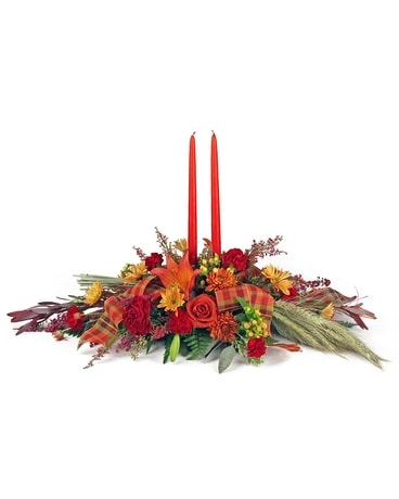 Double Orange Centerpiece