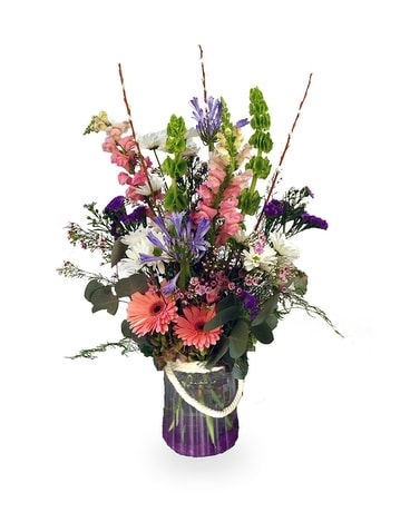 Cottage Charm Flower Arrangement