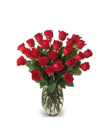 Two Dozen Roses - Special Price Flower Arrangement