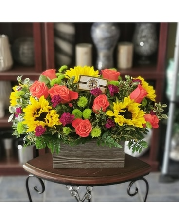 Floral Ratatouille Flower Arrangement